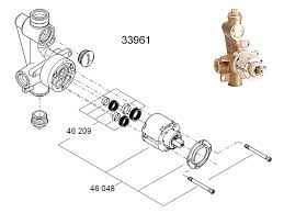 grohe shower valve replacement parts