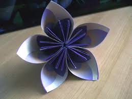 How To Make Origami Paper Flower Visual Instructions For Origami Paper Flowers Lovetoknow