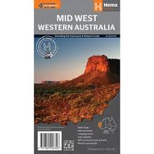 Mid West Western Australia Map – Cairns Charts & Maps