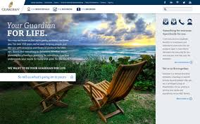 Fg insurance agents & brokers. Guardian Life Insurance Website Concept On Behance