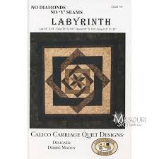 Labyrinth Quilt Pattern Free Best Labyrinth Pattern Debbie Maddy Of Calico Carriage Quilt Designs