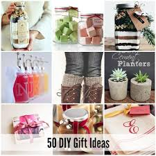 50 Of The BEST DIY Gift Ideas  50th Gift And RoomBest Diy Gifts For Christmas