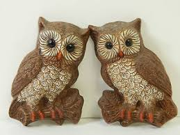 image is loading vintage foam resin hanging hoot owl 1970 039  on mid century wall art ebay with vintage foam resin hanging hoot owl 1970 s wall art 5 x 7 mid