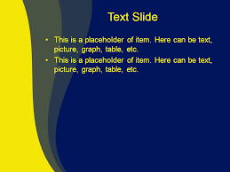 Blue Power Point Templates Download Free Yellow Blue Mix Powerpoint Template For
