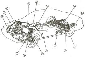 Air suspension wiring diagram bag valve legend motorcycle range rover p38 1080