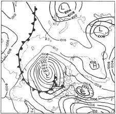Weather Sa Synoptic Chart Factors Affecting Arctic Weather And Climate National Snow