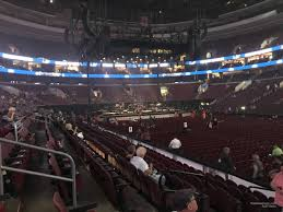 Wells Fargo Center Section 103 Concert Seating