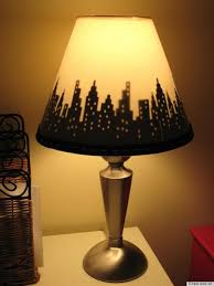 ... Bedside Table Lamp Shades Smart Design 5 9 DIY Lampshade Ideas That  Will Personalize Your ...