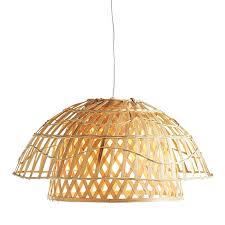 Bamboo Pendant Light Ahogylehetinfo