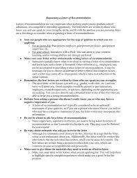 requesting letter of recommendation graduate school requesting a letter of recommendation