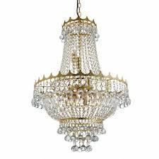 Kronleuchter 9xe14 Klassisch Esstisch Beleuchtung Kristall