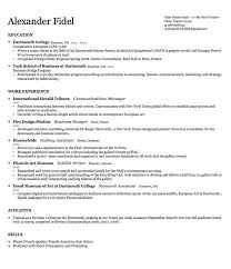 University Resume Template Resume Templates College Student Resume Format  Download Pdf Templates