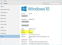 What Version Of Windows 10 Do I Have Which Edition Version Build Of Windows 10 Is Installed