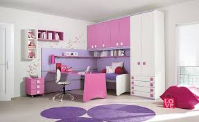 purple bedroom furniture for kids photo - 1