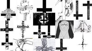 сатанинский крест фото
