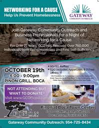 networking flyer networking event for a cause gateway community outreach
