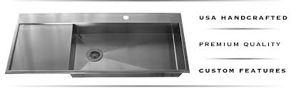 stainless sink with drainboard. Copper And Stainless Steel Drainboard Sinks On Sink With