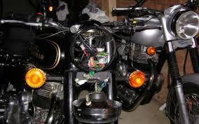 royal enfield bullet 500 classic motorcycle wiring realclassic note multi colured wires oh dear