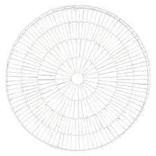 and metal circle wall art