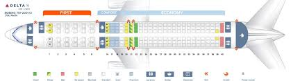 Delta Flight 200 Seating Chart Delta Air Lines Fleet Boeing 757 200 Details And Pictures