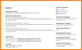 Short Resume Format Best Short Resume Format Heartimpulsarco