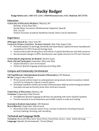 Study Abroad Resume Sample Study Abroad Resume Template Resume For Study Abroad Participant