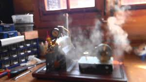 homemade steam turbine in action 3