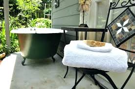 outdoor bathtub wood fired outdoor bathtub wood fired terrific hot tub catch light simple design full