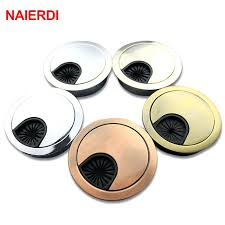computer desk grommet zinc alloy wire hole cover base computer desk grommet table cable port