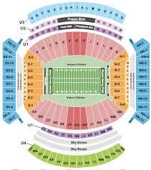 Bryant Denny Stadium Seating Chart Tuscaloosa