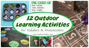 outdoor activities for preschoolers. 12 Outdoor Learning Activities For Toddlers And Preschoolers - So Many Great Ideas To Try During