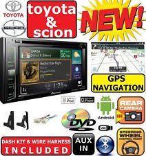 toyota highlander radio parts accessories toyota scion navigation dvd cd bluetooth usb aux car radio stereo double din