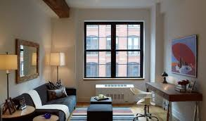 Classic Interior Design For One Bedroom Apartment By Sofa Apartement Small  Room Dining Table Decorating Ideas ...