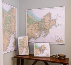 Hang The Charts On The Wall Nautical Charts Artiplaq