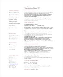 3 Unique Architect Resume Samples 3goodman Business Documents