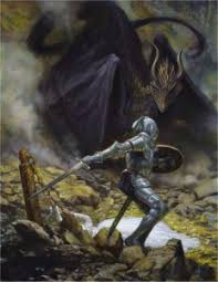 adze vampire. st. george and the dragon by donato giancola adze vampire a
