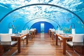 underwater hotel room at night. Conrad Hotels \u0026 Resort, Maldives Underwater Hotel Room At Night D