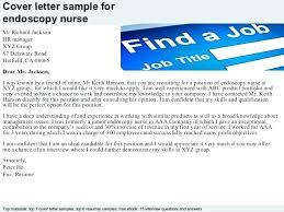 Endoscopy Nurse Cover Letter Cover Letter For School Nurse Position