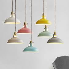 aliexpress com modern led pendant lights multicolour dining in light with switch prepare 10