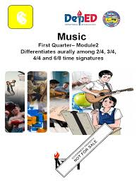 Multiplication and division of fractions and decimal fractions. Music 6 Q1 Module 2 Bandico Finaledited Rhythm Music Theory