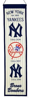 New York Yankees Bedroom Decor New York Yankees Heritage Banner 46013 2799 Teams And