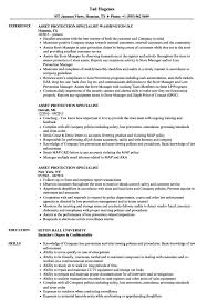 Resume Free Download Resume Templates Fire Protection Specialist Example Safety Sample 58