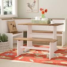 kitchen nook furniture. Birtie 3 Piece Breakfast Nook Dining Set Kitchen Furniture O