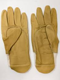 details about leather work gardening manual hadling general purpose gloves small