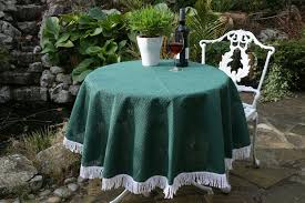 outdoor tablecloths with parasol hole