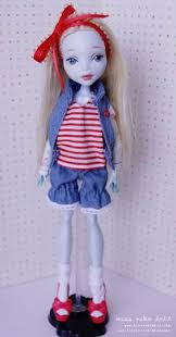 monster high custom lagoona blue doll repaint ooak by missnakodoll dolls this is definitely a