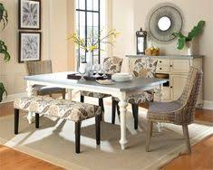 coaster matisse rustic country dining table with galvanized metal top coaster fine furniture