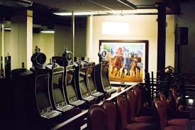 historic horse racing terminals at les bois park have been stacked up throughout the ground floor of its turf club since the idaho legislature banned the