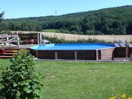 Swimmingpool Holzpool Pool Im Garten