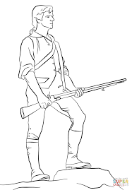 Minutemen coloring page | Free Printable Coloring Pages